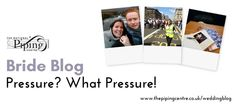 Bride Blog: Pressure? What Pressure! - The National Piping Centre