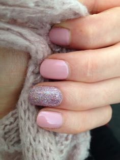 CND Shellac Blush Teddy + Neglige + Additives (Fabzz nagelstudio)
