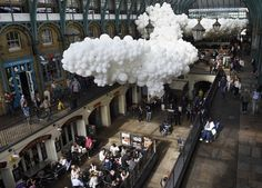 A beautiful, ethereal installation of 100,000 balloons comes to London's Covent Garden