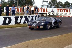 The Story of the Ford Told by 25 Rare Photos of Le Mans, Sebring, and Daytona - Thrillist Ford Gt40, Christian Bale, Le Mans, Diesel, Ferrari, Bruce Mclaren, Alfa Romeo Cars, New Engine, Rare Photos