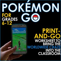 This resource is a worksheet comprising four fun activities! They include hunting out local Pokestops and researching their significance, linking Pokemon to literary and historical figures and creating students' own version of the hit game. Writing Lessons, Writing Skills, Too Cool For School, Middle School, Teaching Programs, Teaching Secondary, Pokemon, 6th Grade Ela, Research Writing