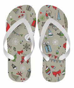 d301b502719a Christmas Shopping Flip Flop sandals