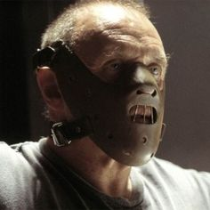 See how everyday tools like chainsaws and double-barrel shotguns become instruments of terror with our gallery of the 25 most iconic horror props from movie history! Hannibal Lecter, Anthony Hopkins Movies, Jumping Cat, Red Raincoat, Pumpkin Mask, Movie Shots, Season Of The Witch, The Exorcist, Halloween Face Mask