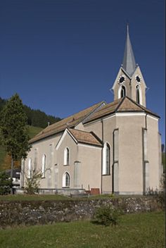Alpthal, Switzerland, to see St. Apollonia - the church my great grandfather built.