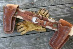 Custom Holster/Cartridge Belt Set crafted by Mr. Legendary Leather.