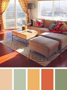 Beautiful small living room color schemes that will make your room look professionally designed for you that are cheap and simple to do. Living Room Color Combination, Good Living Room Colors, Room Wall Colors, Simple Living Room, Living Room Color Schemes, Living Room Paint, Bedroom Colors, Home Living Room, Living Room Designs