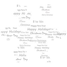 Christmas Sparkling ❤ liked on Polyvore featuring christmas, text, winter, words, words/quotes, phrase, quotes and saying