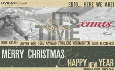 #Telemark Club #Livigno wishes you Merry XMas, a wonderful 2016 starting from New Year's Eve e Bon dì Ghibinet!