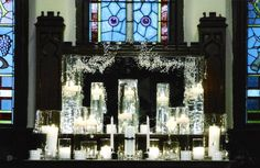 An Alternative to Altar Arrangements, Candle Gardens Candle Arrangements, Garden Candles, Home Altar, Planner Decorating, Fire And Ice, Altars, Special Events, Wedding Planner, Alternative