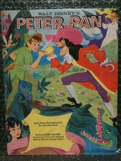 RARE - Walt Disney s Peter Pan Easy Piano Arrangements - Music of Today No: 63