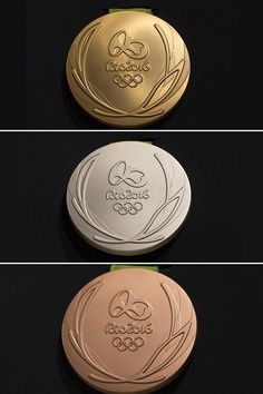 Rio Olympics 2016: See What The Gold, Silver & Bronze Medals Look Like