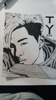 Taeyang - Young Bae - Bigbang  It's hard to reproduce his perfection even with hours of work...