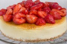 Cheesecake delícia!!!! http://www.comidaereceitas.com.br/tortas-doces/cheesecake-delicia.html