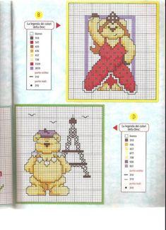 ours du monde (4) Bullet Journal, Bears, World, Art, Teddy Bear, Child