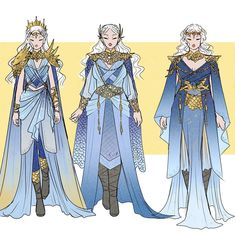 Some Danerys designs! With the idea of what she might wear if she sat on the Iron Throne. Did everyone enjoy the first episode? I hope the…