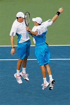 Bryan Brothers. After they retire, people will remember them as the chest-bumping twins who were not only fun and a pleasure to watch, but two gentlemen on court.