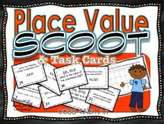 → Looking for something to perk up your review of PLACE VALUE? → Looking for a an activity to support your Common Core lessons for 4.NBT.A.1?   $