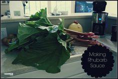 How to make Rhubarb Sauce