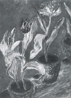 Tulipes en pot (C Monet - W 957),1885.