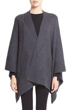 rag & bone 'Blithe' Merino Wool Poncho
