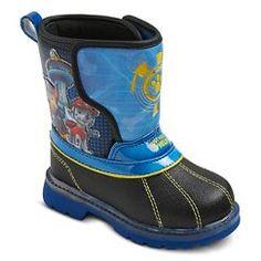 Toddler Boy's Paw Patrol Winter Boots - Black