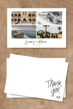 Matthew Mead Photography | Northern Beaches Weddings | Wedding Photo Thank You Cards | For the Love of Stationery