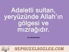 Hz Muhammed'in Adalet Üzerine Sözleri Muhammed Sav, Cool Words, Ecards, Memes, E Cards, Meme