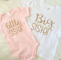88f6d317d Big Sister & Little Sister Outfit Big Sister by ForYouByJordyn Matching  Sister Outfits, Big Sister