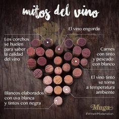 En mundo del #vino existen muchos mitos que no son ciertos, aquí tienes unos cuantos #bodegasmuga #muga #wine #wineinmoderation #winelover #mitosdelvino  #wineoclock #wineoftheday #wineonmytime  #winequotes #wineiloveyou #wineislife #wineislove #winelover #Mugalover  #winesnob #wineporn #winelife #winetasting #wineaddicts Licor Baileys, Wine Folly, Wine Quotes, Wine O Clock, Wine Drinks, Manners, Etiquette, Wine Recipes, Liquor