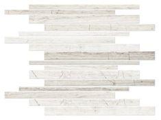 Legno Corinth Travertine Mosaic Floor Tile - 12 x 12 in.