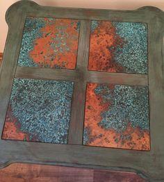 Azul Patina Copper Sheet - Light 36 Gauge