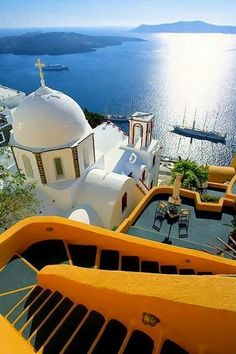 #Santorini in Greece On the #Miessence #CertifiedOrganic bucketlist!