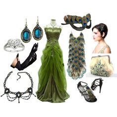 A fashion look from November 2010 featuring Masquerade dresses, Sergio Rossi sandals and Avalaya necklaces. Browse and shop related looks.