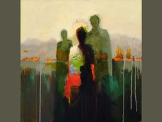 Paintings by Artist Kathy Jones - leni Best Abstract Paintings, Contemporary Paintings, Abstract Art, Figure Painting, Figure Drawing, Project Abstract, Kunst Online, Fantastic Art, Klimt