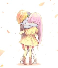 Ill be by your side ( Flutterdash ) - Chapter 1 - Wattpad My Little Pony List, My Little Pony Comic, My Little Pony Drawing, My Little Pony Pictures, My Little Pony Friendship, Fluttershy, Rainbow Dash, Equestria Girls, Powerpuff Girls