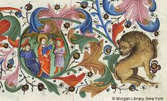 Book of Hours, MS M.64 fol. 17r - Images from Medieval and Renaissance Manuscripts - The Morgan Library & Museum