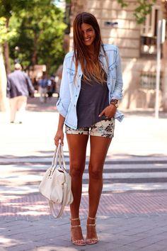 Selva: Shorts, en especial de tela para estar más fresh