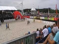 Vacu Activ Słupsk vs. Grembach Łódź - Beach Soccer USTKA 2014