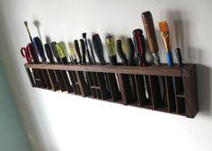 printer drawer tool display - for workshop in garage or art studio for a painter, $78