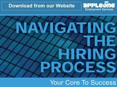 Download AppleOne's Core to Success Career Tips and Advice from http://www.appleone.com/Career_Seekers/ToolsAndResources/Core/Cor2_suc.pdf