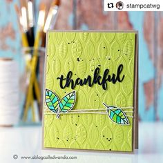 We hope you had a wonderful day, friends! Be sure to check back here and on the SSS Blog tomorrow and all weekend for sales, specials, and fun events!   #Repost @stampcatwg with @repostapp  ・・・  🍃 #thankful 🍃 Just blogged this card and some thoughts on gratitude for this Thanksgiving holiday. #papercrafting #cardmaking #simonsaysstamp #sizzix #distressink #happythanksgiving @simonsaysstamp @sizzix
