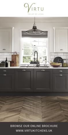 Artisan Harmony - Shaker Style. Crafted simplicity fusing practicality & understated style. Express the art of living your way with Virtu kitchens . #VirtuKitchens