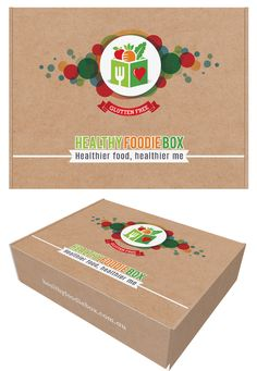 Create a healthy and heart warming box design for healthyfoodiebox by ciscoa graphics