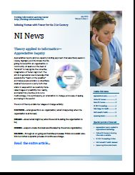 This Nursing Informatics site offers an ezine focused on the art and science of informatics in Nursing. This publication offers articles, news, product and systems analyses, resources and dialogue on global nursing informatics issues, discoveries and theory. It provides a comprehensive view of informatics in practice, education, research and administration.
