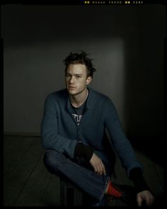 """I'm not good at future planning. I don't plan at all. I don't know what I'm doing tomorrow. I don't have a day planner and I don't have a diary. I completely live in the now, not in the past, not in the future.""—Heath Ledger, photo by Dan Winters"