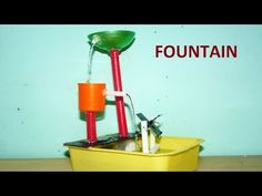 Make Non Stop Heron's Fountain With Plastic Bottle - YouTube