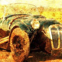 1988 Frazer Nash Le Mans, Classic Car, Husband Gift by Drawspots Illustrations Enfield Bullet, Gull, Gifts For Husband, Le Mans, Classic Cars, Monster Trucks, Motorcycle, Illustrations, Illustration