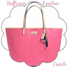 "Spotted while shopping on Poshmark: ""NEW Coach Park Metro Tote Pink SaffianoAuthentic""! #poshmark #fashion #shopping #style #Coach #Handbags"