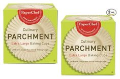 (2 Pack) Extra Large Paper Cupcake Liners / Baking Cups, 30-ct/Box PaperChef http://www.amazon.com/dp/B00J4VRSKQ/ref=cm_sw_r_pi_dp_hmuQvb19MM6F5