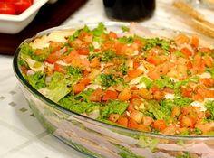 Salada de Panqueca